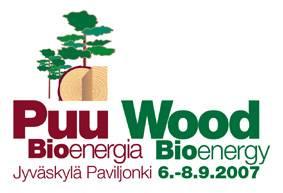 芬兰于韦斯屈莱木业加工技术展览会logo