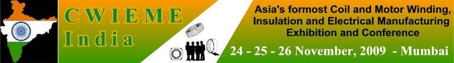 印度孟买线圈、绝缘电器制造展览会logo