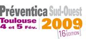 法国土鲁兹专业安全健康展览会logo