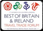 英国伦敦旅游展logo