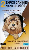 法国南特犬类展logo