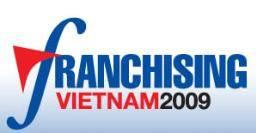 越南胡志明市特许经营展览会logo