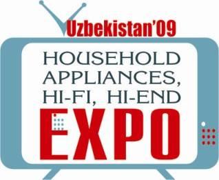 乌兹别克斯坦塔什干国际家用电器、电子及装潢装饰展logo
