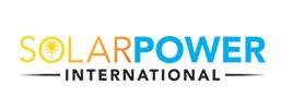 美国洛杉矶国际太阳能展览会logo