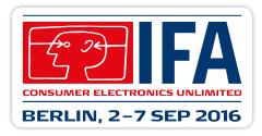 德国柏林国际消费类电子展览会logo