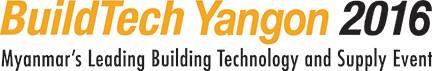缅甸仰光国际建筑及建筑技术展览会logo