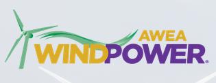 美国拉斯维加斯国际风能展览会logo