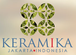 印尼雅加达国际陶瓷工业展览会logo