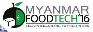 缅甸仰光国际食品加工及包装机械展览会logo