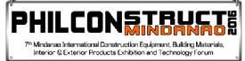 菲律宾达沃国际建材展览会logo
