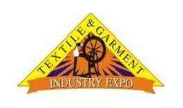 越南胡志明市国际纺织及制衣工业展览会logo