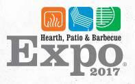 美国国际专业壁炉、庭院及烧烤设备展览会logo