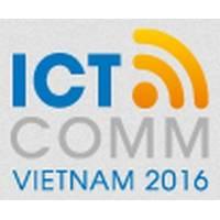 越南胡志明市国际通讯展览会logo