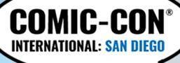 美国圣地亚哥国际动漫展览会logo