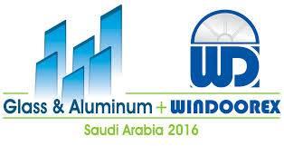 沙特利雅得国际玻璃门窗展览会logo