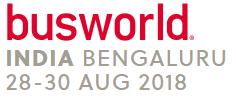 印度世界客车展览会logo