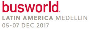 哥伦比亚麦德林世界客车展览会logo