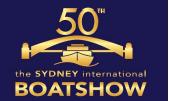 澳大利亚悉尼国际船舶展览会logo