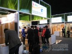 盈拓展团展后报道--2011年德国汉诺威国际地铺制品展