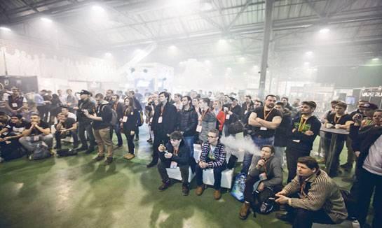 俄罗斯电子烟展VAPEXPO