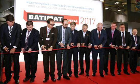 俄罗斯建筑及室内装饰展BATIMAT RUSSIA