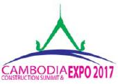 柬埔寨金边国际建筑展览会logo