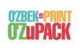 乌兹别克斯坦塔什干国际印刷包装展览会logo