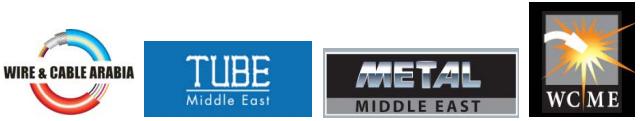 迪拜国际线材线缆、管材、金属及焊接展览会logo