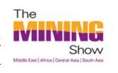 迪拜国际矿业展览会logo