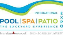 美国国际泳池和水疗展览会logo