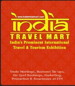 印度新德里国际旅游公司展logo
