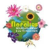 法國布雷斯地區布爾格國際花卉展logo