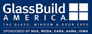 美国国际玻璃及门窗展览会logo