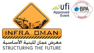 阿曼馬斯喀特國際基礎設施及建筑建材展覽會logo