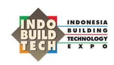 印尼雅加达国际建材及建筑技术展览会logo