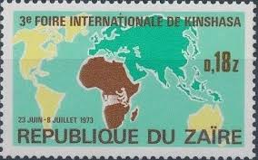 刚果金沙萨国际贸易展览会logo