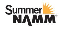 美国乐器展SUMMER NAMM