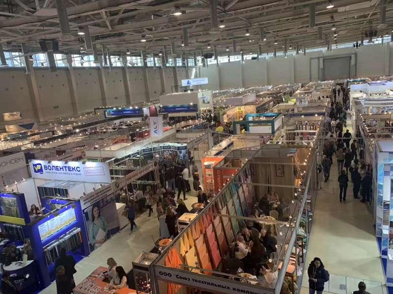 展会直播|2019年俄罗斯莫斯科国际秋季纺织品及皮草鞋类技术展 TEXTILLEGPROM AUTUMN