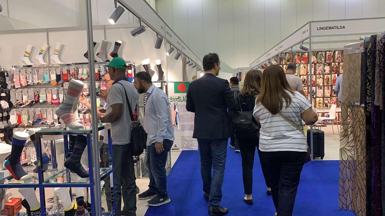 展会直播丨2019年迪拜国际纺织服装及家用纺织品展览会 IATF