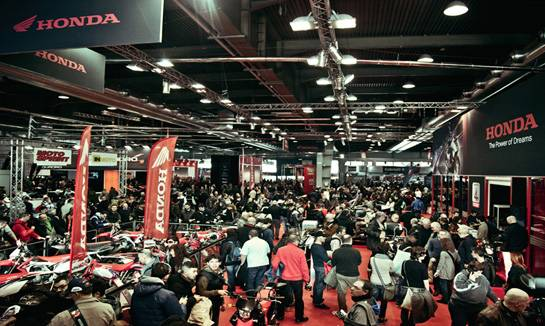意大利米兰国际双轮车展览会