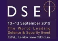 英国伦敦国际防务及军用警备展览会logo