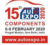 印度新德里国际汽车配件展览会logo