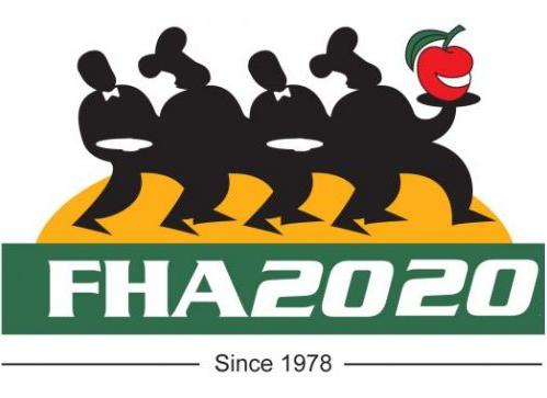 ?#24405;?#22369;国际食品及酒店行业展览会logo