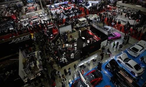日本东京国际改装车展览会
