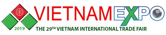 越南胡志明市国际综合贸易电子展览会logo