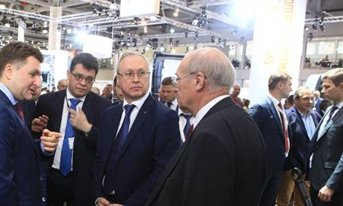 俄罗斯莫斯科国际商用车展览会