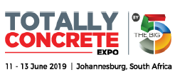 南非約翰內斯堡國際建筑及混凝土展覽會logo