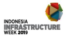 印尼雅加達國際基礎設施周之工程機械展覽會logo