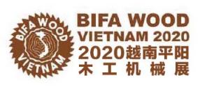 越南平阳省国际木工机械龙8国际logo