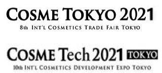 日本東京國際化妝品及化妝品技術展覽會(線上展)logo